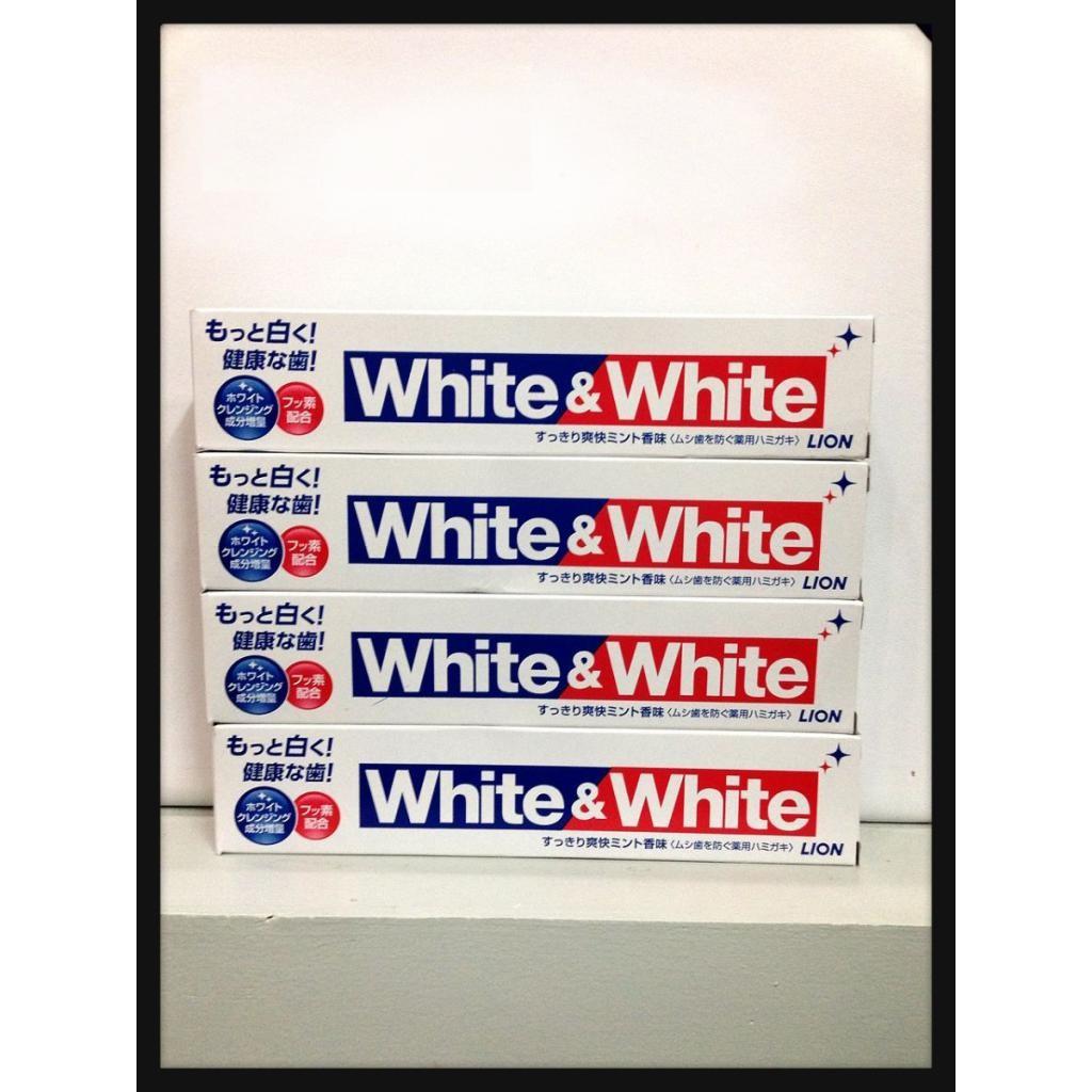Combo 10 Kem đánh răng White and White Nhật Bản