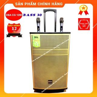 [Sale Sập Sàn] Loa Kéo DBA CG 1290 Bass 30 Âm thanh tinh khiết, sống động, kèm 2 mic Wireless, có khiển từ xa