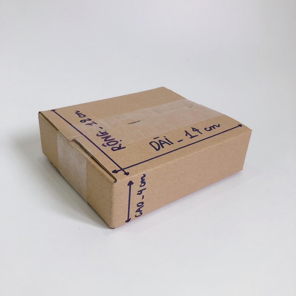 14x12x4 Hộp carton, thùng giấy cod gói hàng, hộp bìa carton đóng