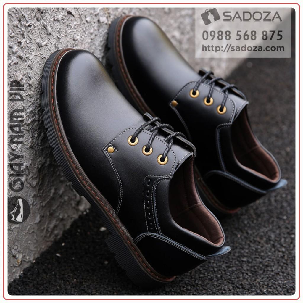 Giày Nam Tăng Chiều Cao - FREESHIP - Giày Đốc Nam Trẻ Trung Khỏe Khoắn GD84