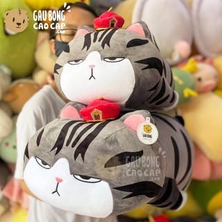 Mèo Bông Hoàng Thượng nằm gối ôm dài - Gấu Bông Mèo thumbnail