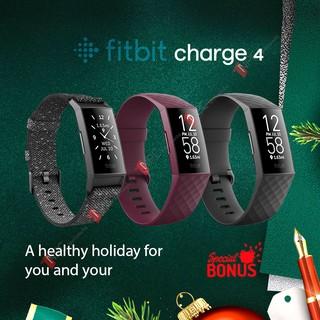 [Nguyên Seal Chính Hãng] Vòng Đeo Tay Thông Minh Sức Khỏe Fitbit Charge 4 Theo Dõi Sức Khỏe - Nhịp Tim - Giấc Ngủ - GPS