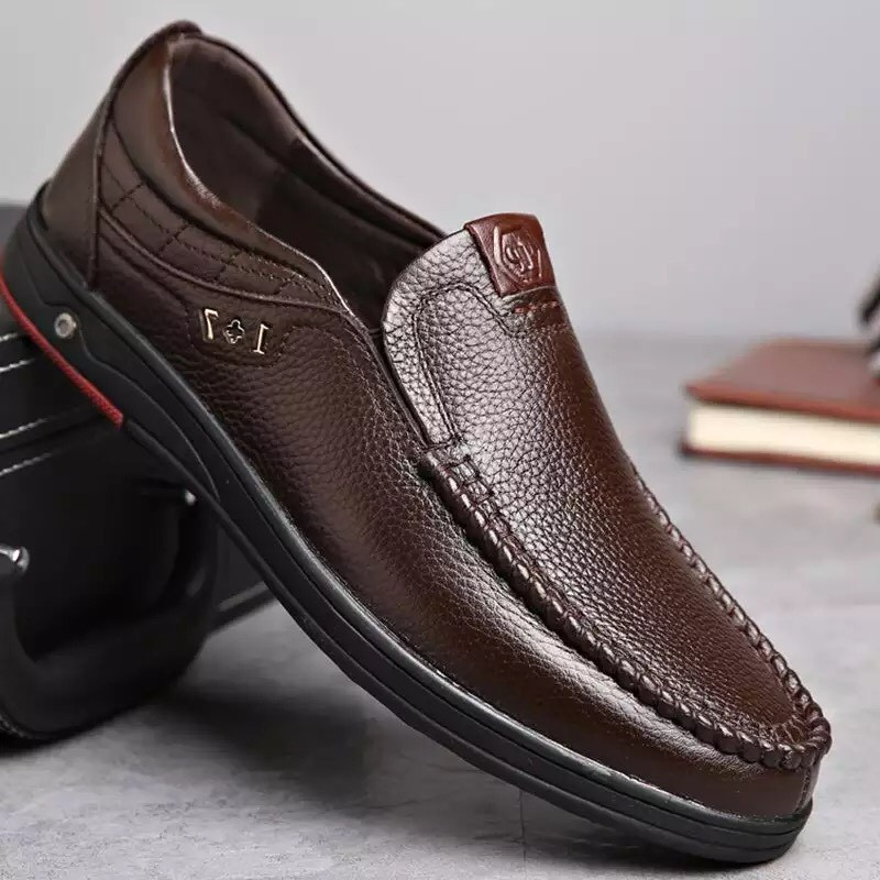 Giày lười nam da bò đẳng cấp