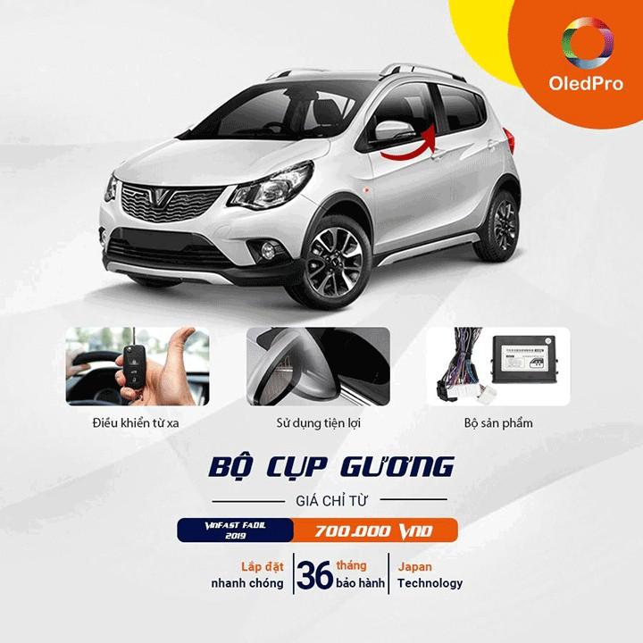 Bộ gập gương cho xe Vinfast Fadil chính hãng OLEDPRO   Shopee Việt Nam