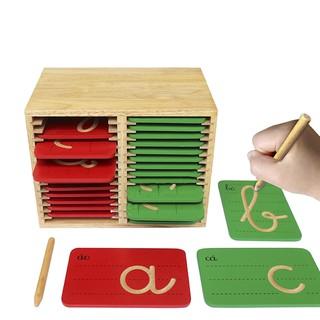 Bộ 29 chữ cái bằng gỗ cho bé tập viết