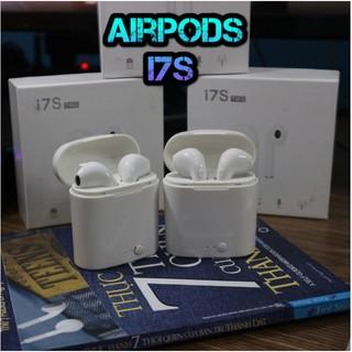 Tai Nghe Bluetooth I7s - Tai Bluetooth Nhét Tai - Nghe Cùng Lúc Cả 2 Tai Bảo Hành 3 Tháng