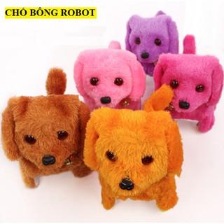 [HOT] Chó Nhồi Bông Robot Điện Tử Đồ Chơi Xinh Xắn Đáng Yêu