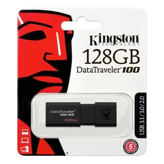 USB KINGSTON DT100G3 USB 3.0 128GB (SPC/ FPT)-Bảo hành 2 năm
