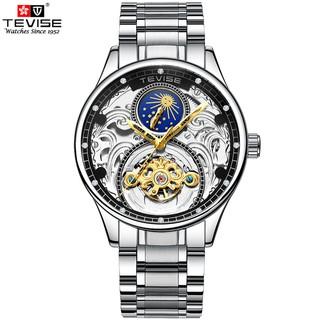 Đồng hồ Cơ Nam TEVISE MERAGI - Dây Thép Đúc Đặc - Quý Ông Thời Thượng