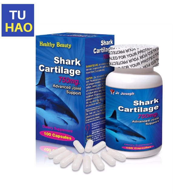 ✅ (CHÍNH HÃNG) Sụn cá mập Shark Cartilage