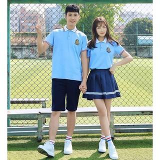 Đồng phục lớp tốt nghiệp học sinh Nhật Bản phù hợp với phong cách Hàn Quốc trung cơ sở đại kiểu Anh mùa hèEDC6GHJ thumbnail