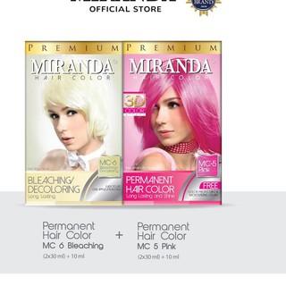 Kem tẩy lông Miranda MC5 màu hồng & MC6