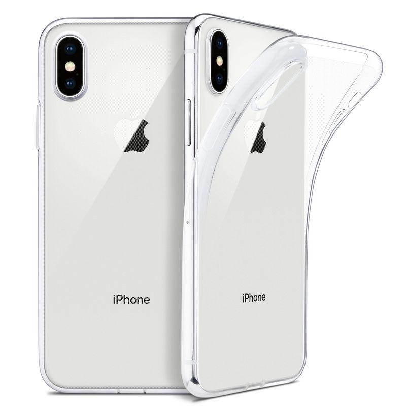Ốp điện thoại nhựa TPU trong suốt dành cho iPhone 5/ 5s/ SE/ 6/ 6s/ 7/8/ 7P/8P/6P/ X/Xs/ Xs Max/ XR