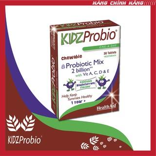 Viên nhai bổ sung lợi khuẩn Health Aid Kidz Probio (Hộp 30 viên)
