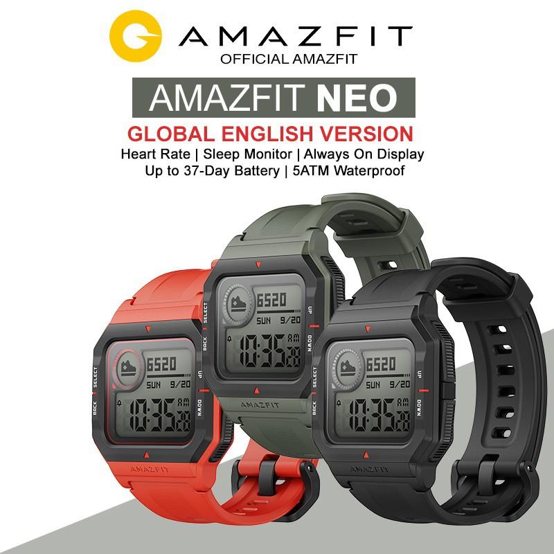 Đồng hồ thông minh Xiaomi Amazfit Neo - Hàng Chính hãng