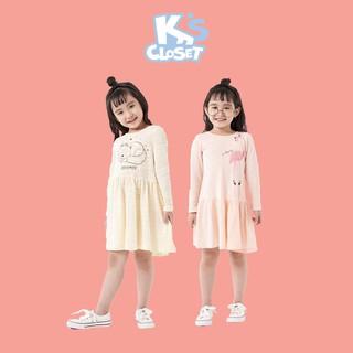 Váy Dài Tay Cho Bé Gái (1-9 Tuổi) K's Closet E029TEF / E047TEF TM