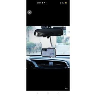 Kẹp điện thoại, giá đỡ điện thoại cho ô tô đa năng gấp gọn xoay 360 độ