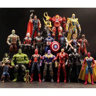 Bộ 20 avengers marvel đồ chơi siêu anh hùng