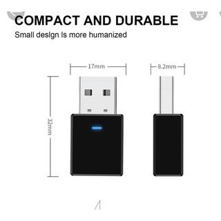 USB thu phát sóng tín hiệu Bluetooth 5.0 + phụ kiện dành cho loa