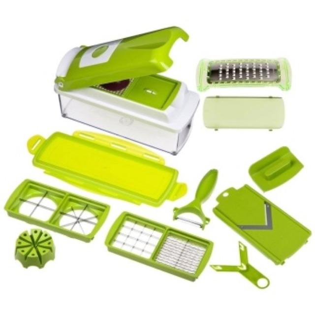 Bộ dụng cụ cắt rau củ 10 món Nicer Dicer Plus