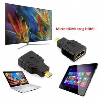 Đầu Chuyển cổng Micro HDMI sang HDMI – Micro HDMI to HDMI – Màu đen