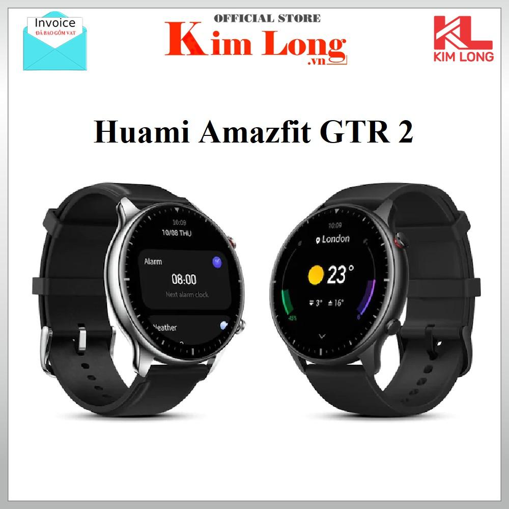 Đồng hồ thông minh Xiaomi Amazfit GTR 2 | GTR Bản quốc tế - Bảo hành 12 tháng Digiworld