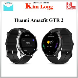 Đồng hồ thông minh Xiaomi Amazfit GTR 2 Classic Edition Leather / Silicon Đen Bản quốc tế - Bảo hành 12 tháng Digiworld