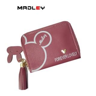 Ví nữ mini dễ thương ngắn MADLEY nhiều ngăn nhỏ gọn bỏ túi thời trang cao cấp VD493 thumbnail