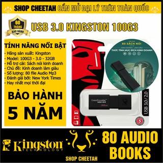 USB 3.0 Kingston 100G3 – Hỗ trợ cài đặt bộ 80 sách nói kinh doanh