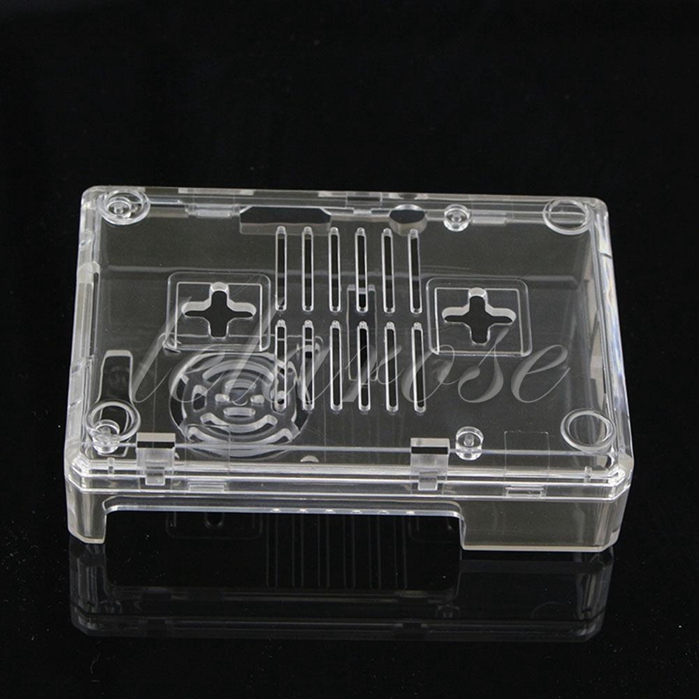 ABS Protective Shell Enclosure Protection For Raspberry Pi 3 Board With Fan Hole