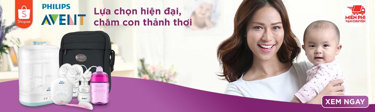 Philips Avent chính hãng - Cùng bé yêu khôn lớn mỗi ngày