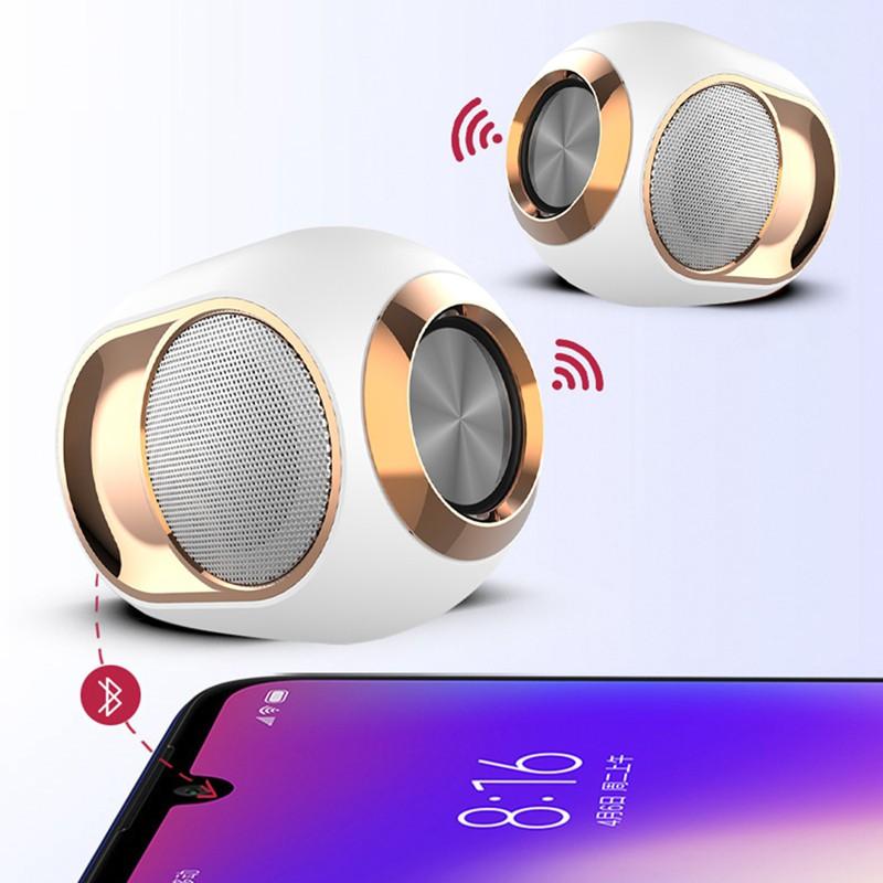Bộ Loa Bluetooth Không Dây X6 Chất Lượng Cao Kèm Phụ Kiện