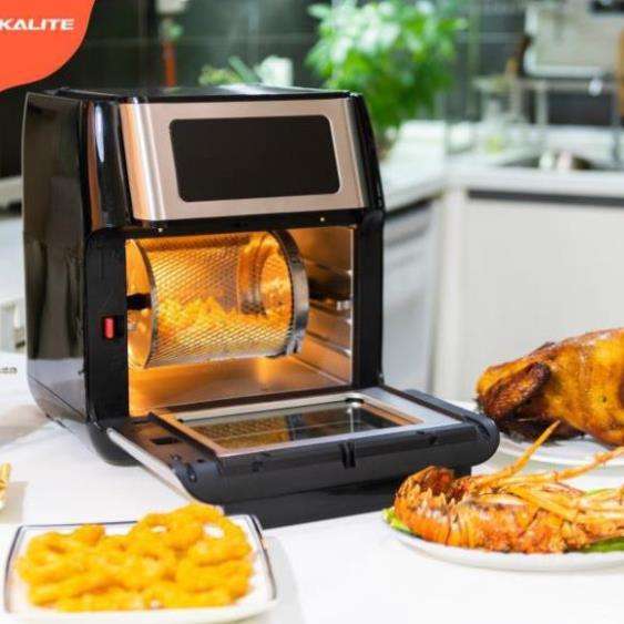 Nồi chiên không dầu chính hãng Kalite Q10, thiết kế đẳng cấp, sang trọng tôn vinh căn bếp của bạn, bảo hành 12 tháng