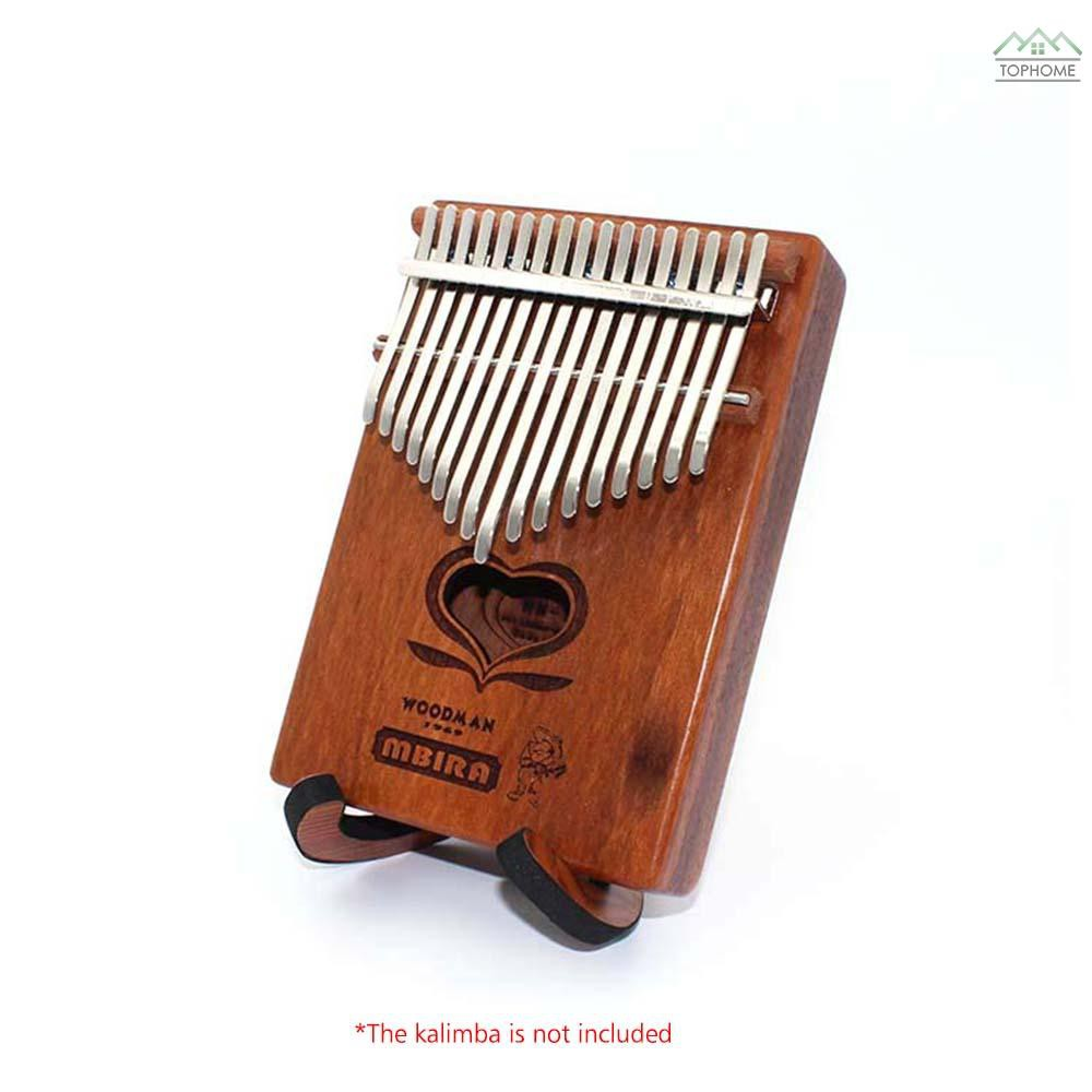 ★Portable Wooden Thumb Piano Stand Holder Kalimba Bracket for 10-key 17-key Kalimbas