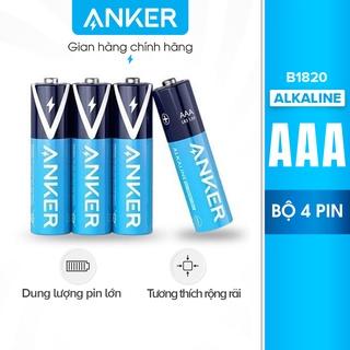 Pin Kiềm AAA ANKER Alkaline (Bộ 2 Pin/4 Pin) – B1820