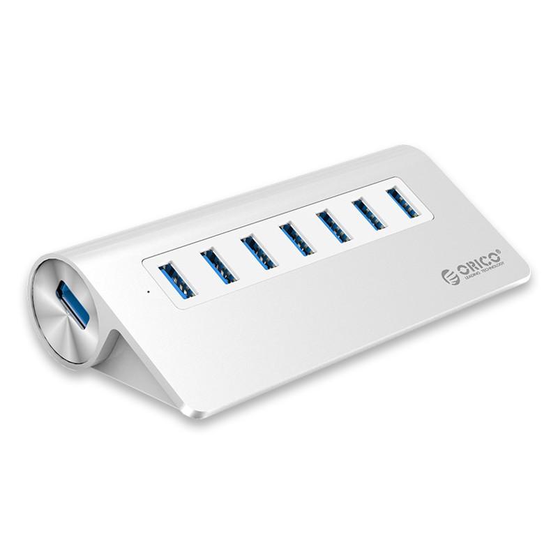 Bộ chia USB 1–7 PORT Orico M3H7-V1 Bạc