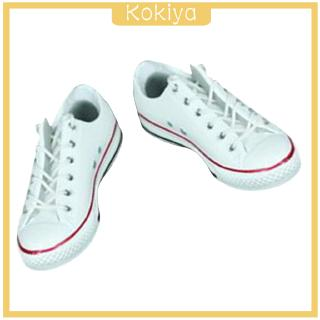 "[KOKIYA] 1/6 Scale Woman Girl Canvas Shoes Rubber Sport Sneakers for 12"" Figure Hot Toys"