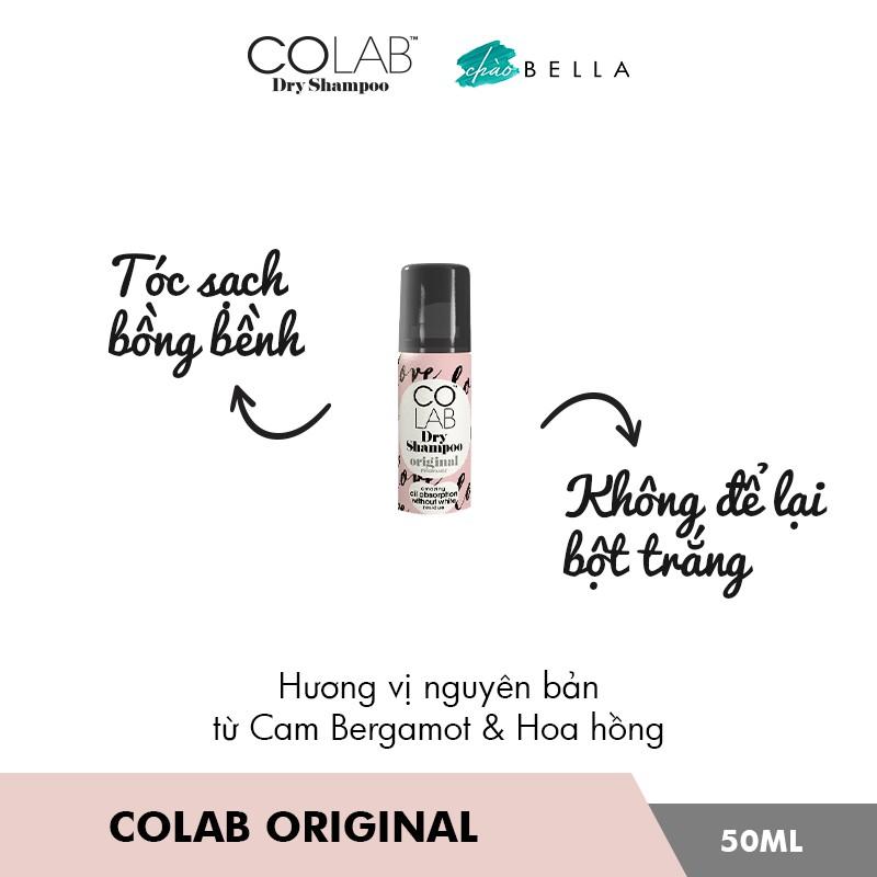 Dầu Gội Khô Colab Dry Shampoo 50ml - @chaobella