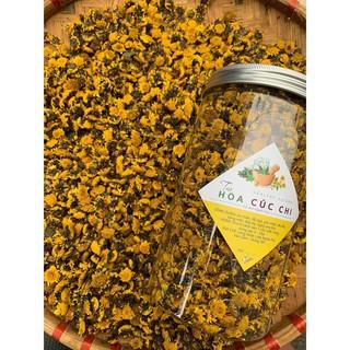 Trà hoa cúc chi nguyên bông vàng lọ 100gram