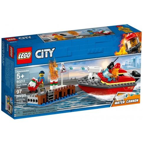 LEGO City – 60213 – Cứu Hỏa Bến Tàu (97 Chi Tiết)