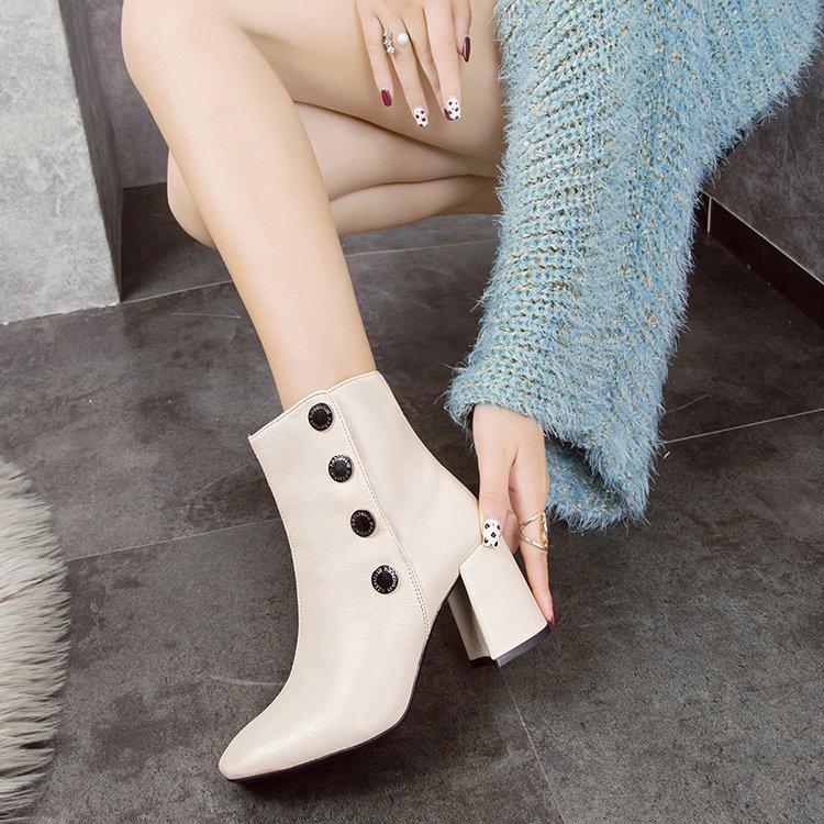 บู๊ทส์มาร์ตินรองเท้าแฟชั่นในยุโรปและอเมริกาหัวตารางที่อบอุ่น