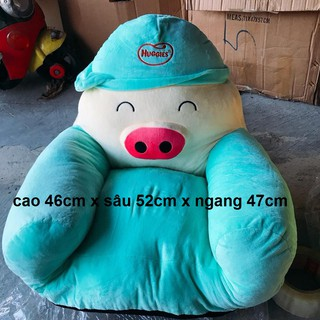 Ghế sofa Huggies con heo