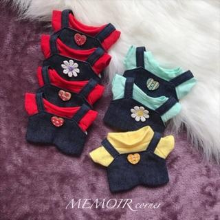 Outfit cho Doll 15cm – Garish ❤️