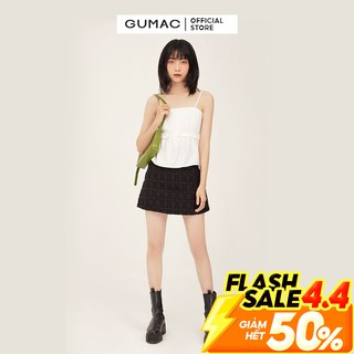 [Mã WABR44 giảm 15% đơn 300k] Chân váy A cơ bản GUMAC dáng basic nhiều màu năng động VB371 thumbnail