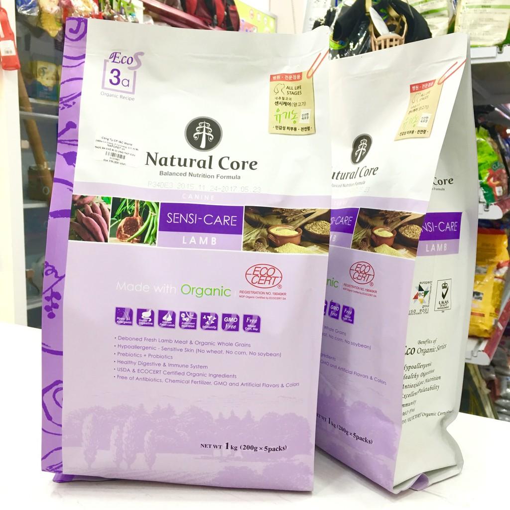 Thức ăn Natural Core Vị Cừu Cho Chó Mẫn Cảm 1kg