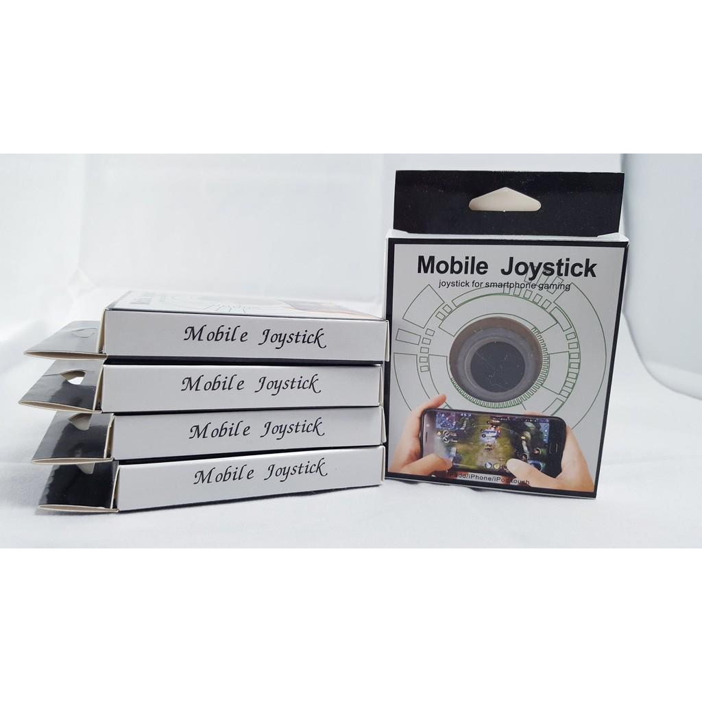Joystick Nano Thế Hệ Thứ 4 Đế Cao Su Đen Siêu Bám Dính Từ Chất Liệu Của Fixate Joystick Mobile ( Màu