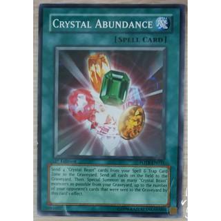 [Thẻ Yugioh] Crystal Abundance