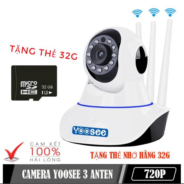 [TẶNG THẺ 32G] Camera IP YooSee Tiếng Việt kết nối WIFI Bảo Hành 12 Tháng