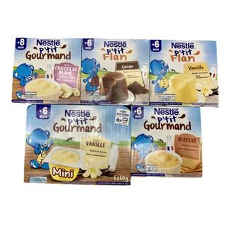 [Mã MKBCS01 hoàn 8% xu đơn 250K] [T6 2021]Váng sữa Nestle nội địa Pháp 6 hộp cho bé từ 6 tháng mẫu mới thumbnail