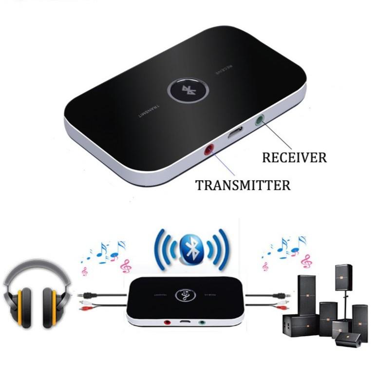 Thiết bị phát nhận tín hiệu âm thanh Bluetooth 2 trong 1